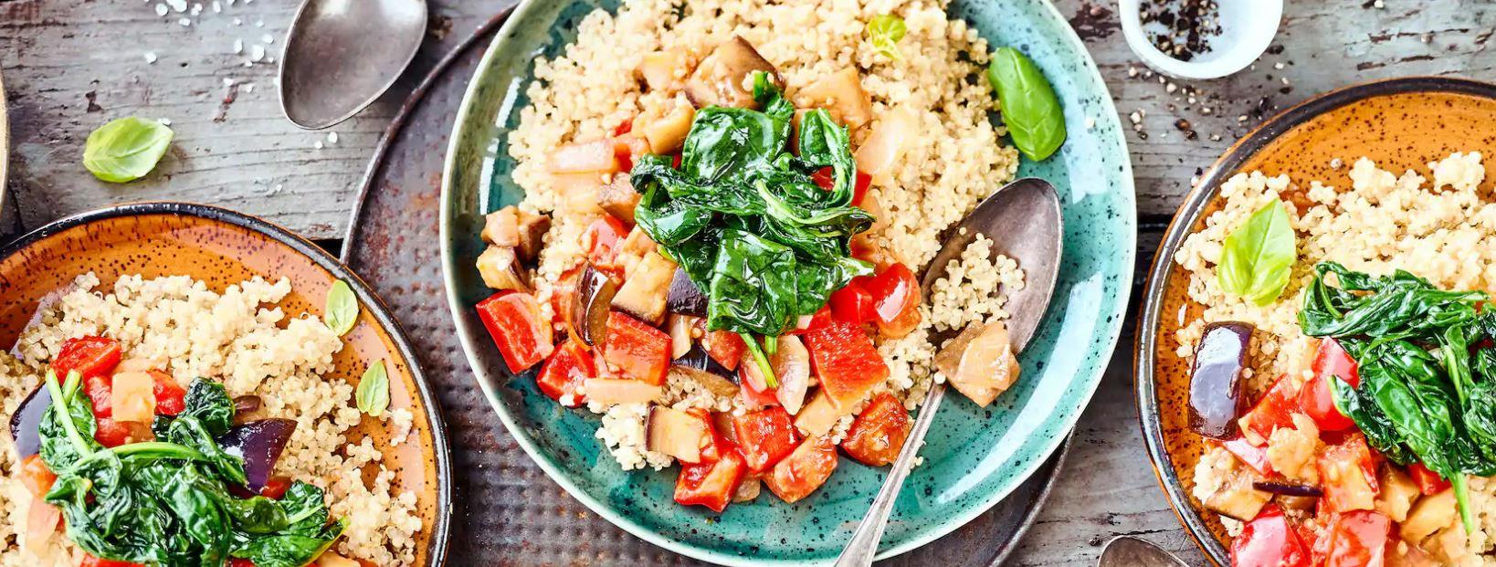 Quinoa-Ratatouille -Rezept